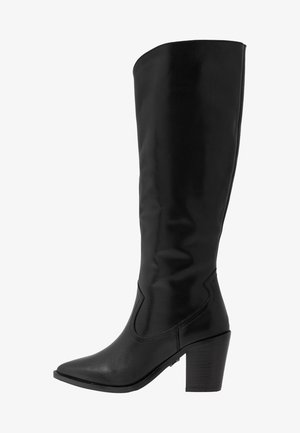 NEW-AMERICANA LOW - Vysoká obuv - black