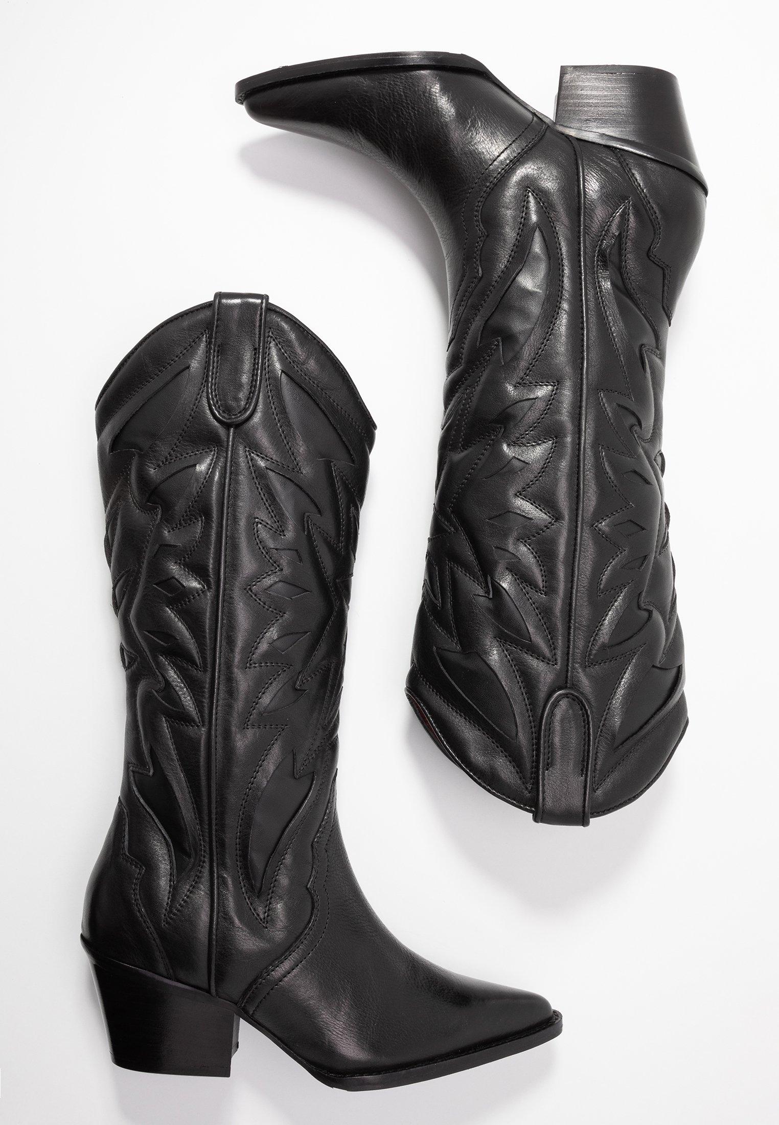 Bronx JUKESON Cowboystøvler black Zalando.no