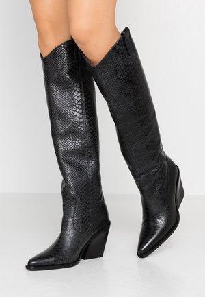 NEW-KOLE - High Heel Stiefel - black