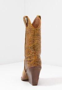 Bronx - NEW KOLE  - High heeled boots - mustard - 5