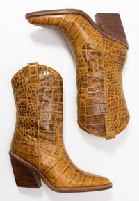 Bronx - NEW KOLE  - High heeled boots - mustard - 3