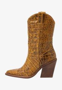 Bronx - NEW KOLE  - High heeled boots - mustard - 1