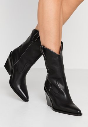 NEW-KOLE LOW - High heeled boots - black