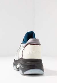 Bronx - BAISLEY - Sneakers - offwhite/silver/light blue - 5