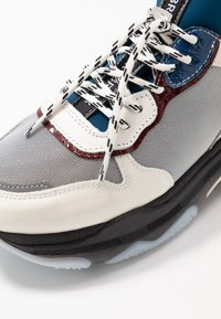 Bronx - BAISLEY - Sneakers - offwhite/silver/light blue - 2