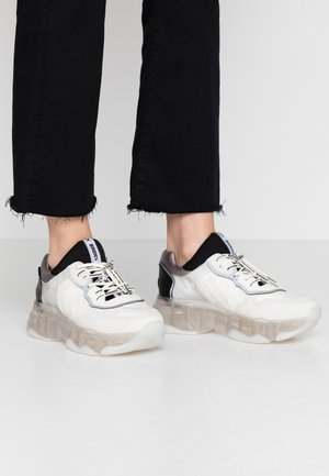 BAISLEY - Trainers - offwhite/silver/black