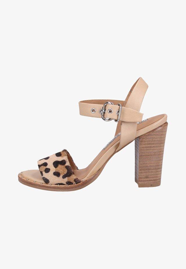 High Heel Sandalette - brown