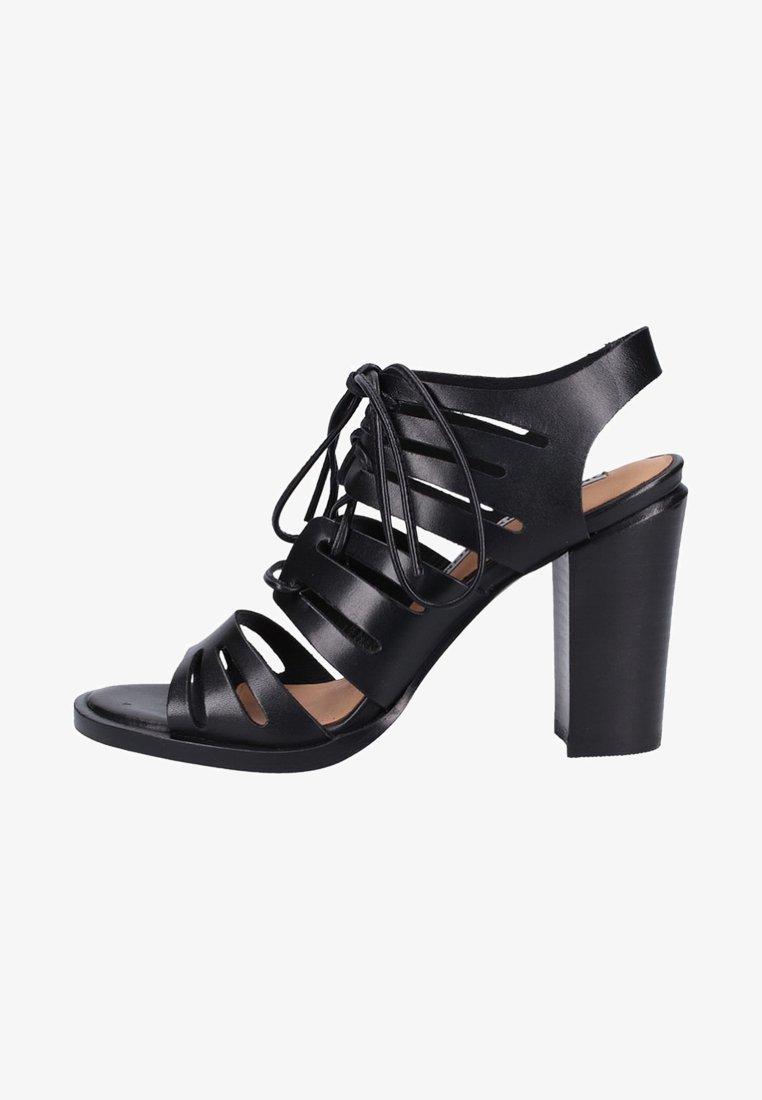 Bronx - High Heel Sandalette - black