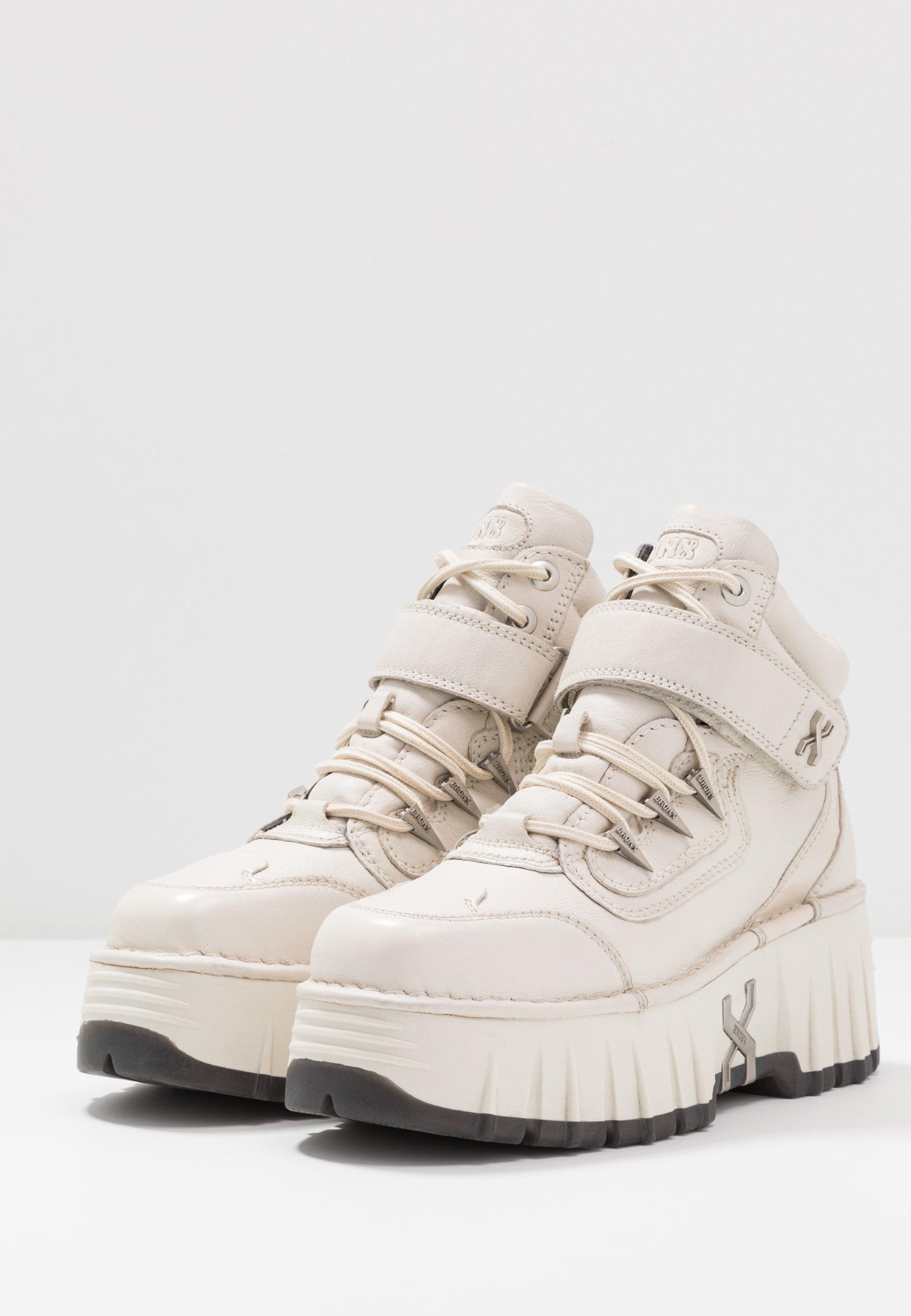 Bronx Moon Walkk - Sneakers Hoog Offwhite ttUWEaL