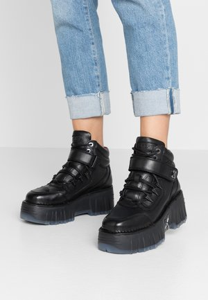 MOON WALKK - High-top trainers - black