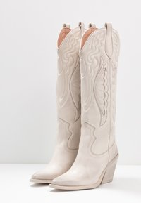 Bronx - NEW KOLE - High heeled boots - offwhite - 4