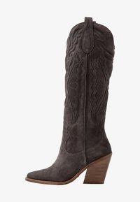 Bronx - NEW KOLE - Boots med høye hæler - asphalt - 1