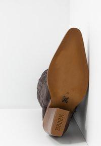Bronx - NEW KOLE - Boots med høye hæler - asphalt - 6