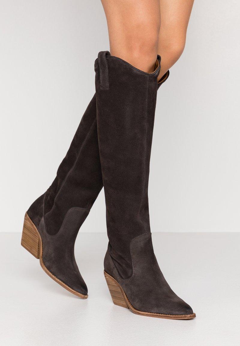 Bronx - KOLE - Cowboystøvler - asphalt