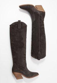 Bronx - KOLE - Cowboystøvler - asphalt - 3