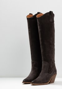 Bronx - KOLE - Cowboystøvler - asphalt - 4