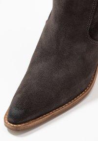 Bronx - KOLE - Cowboystøvler - asphalt - 2