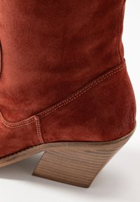 Bronx - KOLE - Cowboy/Biker boots - deep rust - 2