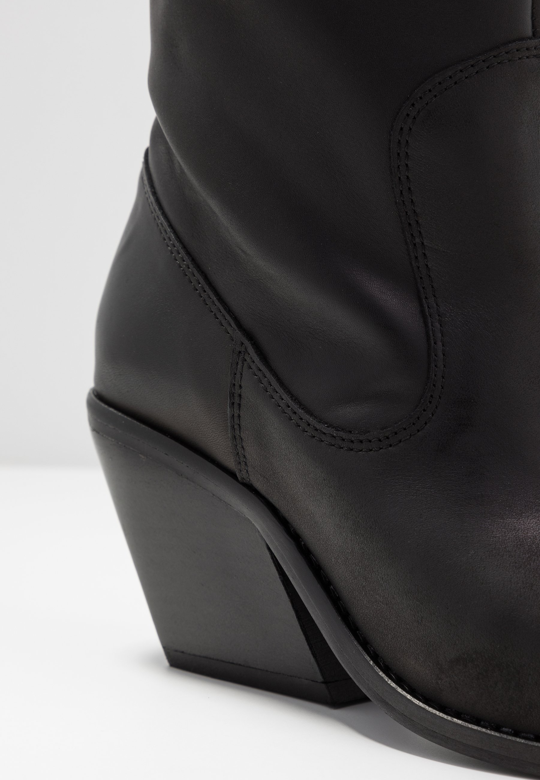 Bronx KOLE - Kowbojki i obuwie motocyklowe - black