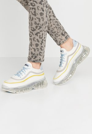 BUBBLY - Sneakers - offwhite/baby blue/lime