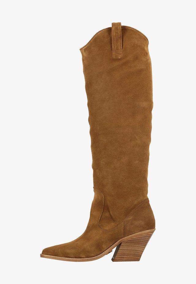 Stiefel - beige