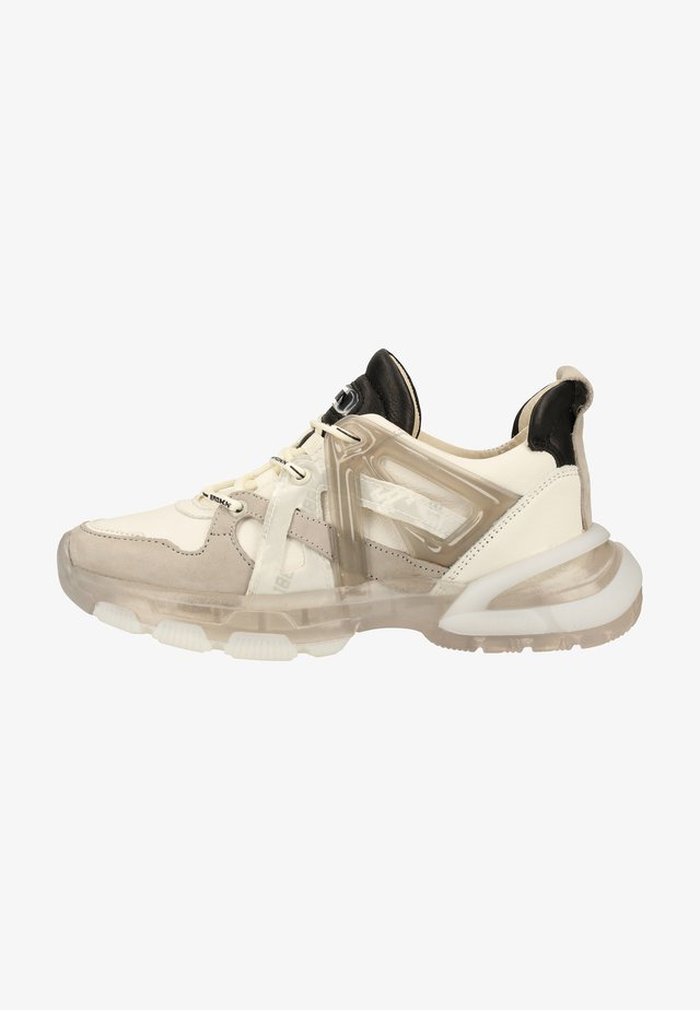 Trainers - off white/l.grey/black