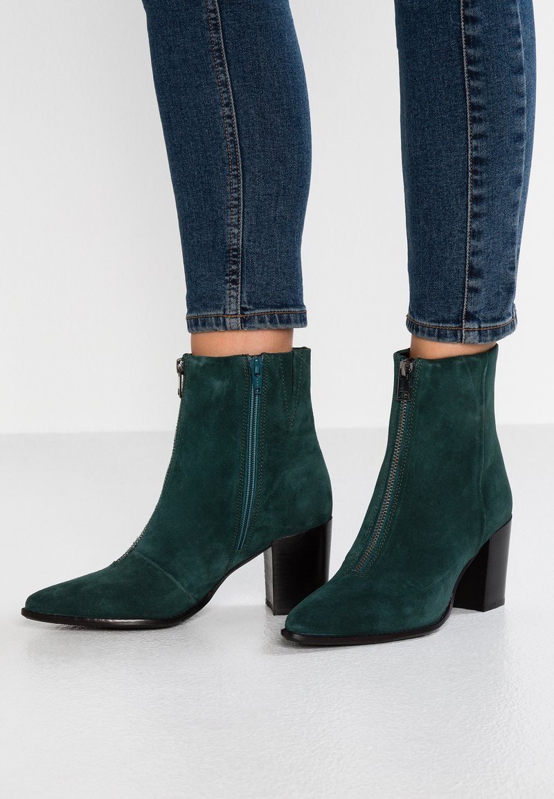 Bronx - AMERICANA LOW - Classic ankle boots - teal