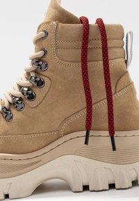 Bronx - JAXSTAR HIKING - Ankle boots - cappuccino - 7