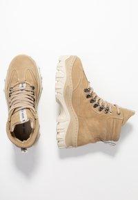 Bronx - JAXSTAR HIKING - Ankle boots - cappuccino - 3