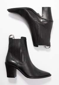 Bronx - NEW-AMERICANA LOW - Classic ankle boots - black - 3