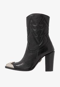 Bronx - NEW AMERICANA - Kotníková obuv na vysokém podpatku - black - 1