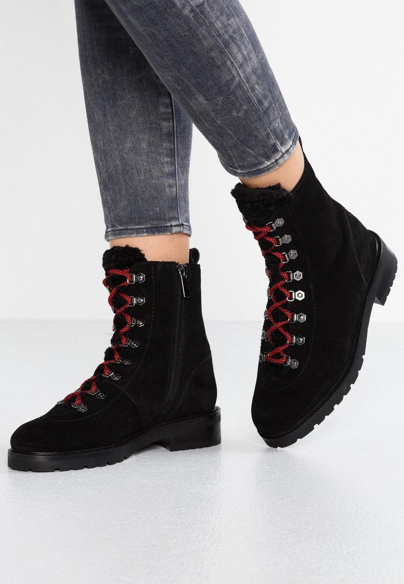 Bronx - Bottines à lacets - black