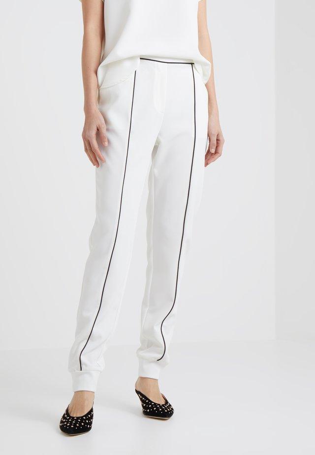 RUBY EMMA PANT - Pantaloni - snow white