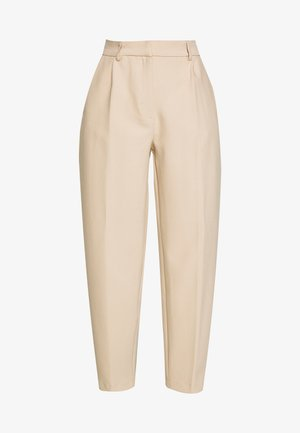 CINDY DAGNY PANT - Tygbyxor - light sand