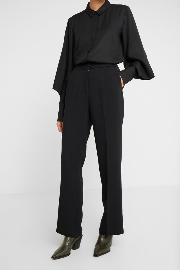 VALOVA MANELLE PANT - Trousers - black