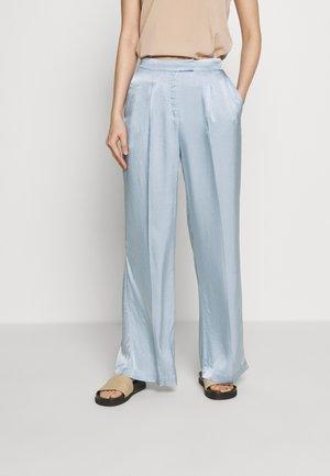 SOFIA TELMA PANT - Kalhoty - blue mist