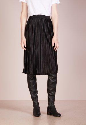 PENNY CECILIE SKIRT - A-snit nederdel/ A-formede nederdele - black