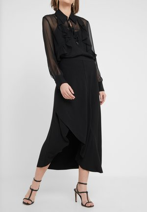 RHONDA NELL SKIRT - Spódnica trapezowa - black