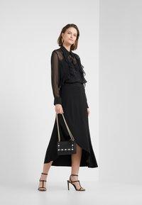 Bruuns Bazaar - RHONDA NELL SKIRT - A-lijn rok - black - 1