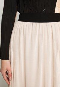 Bruuns Bazaar - THORA VIOLET SKIRT - Áčková sukně - creamy rosa - 5