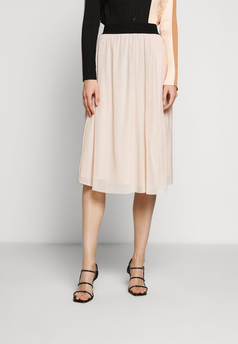 Bruuns Bazaar - THORA VIOLET SKIRT - Áčková sukně - creamy rosa