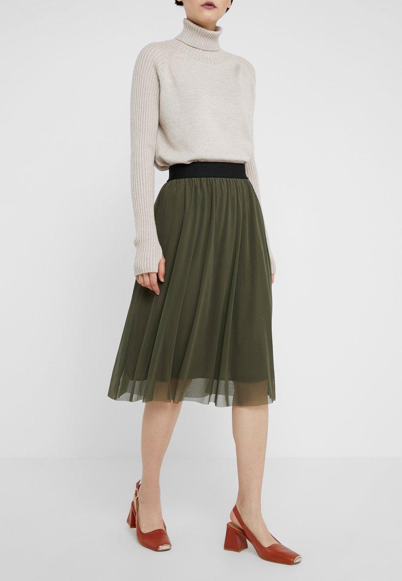 Bruuns Bazaar - THORA VIOLET SKIRT - A-line skirt - green pinetree
