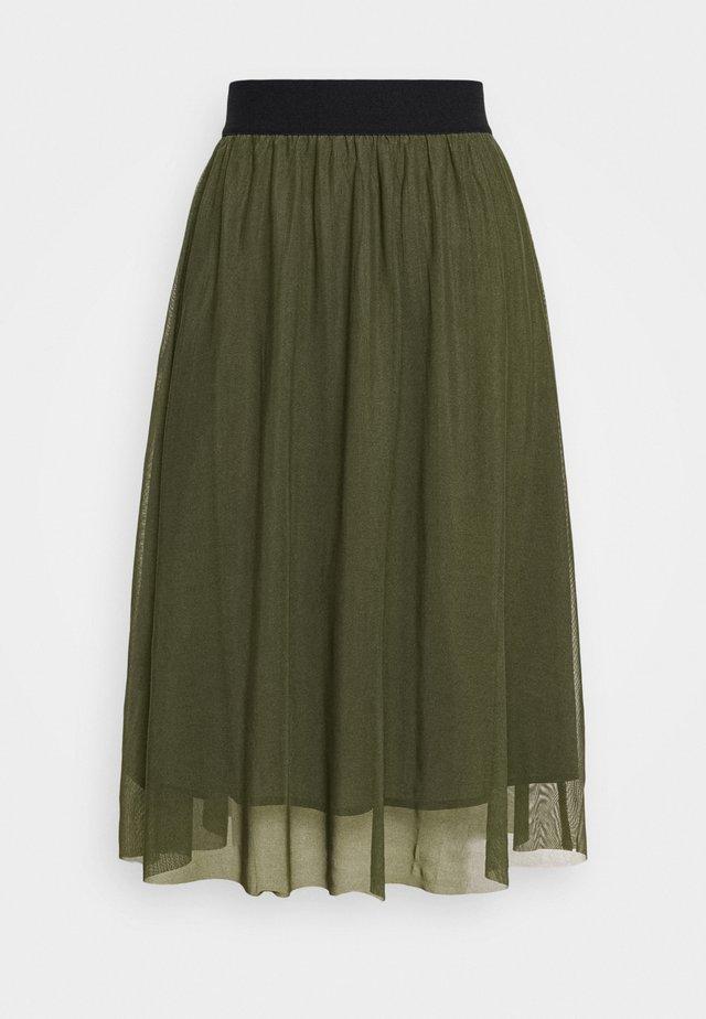THORA VIOLET SKIRT - Áčková sukně - olive green