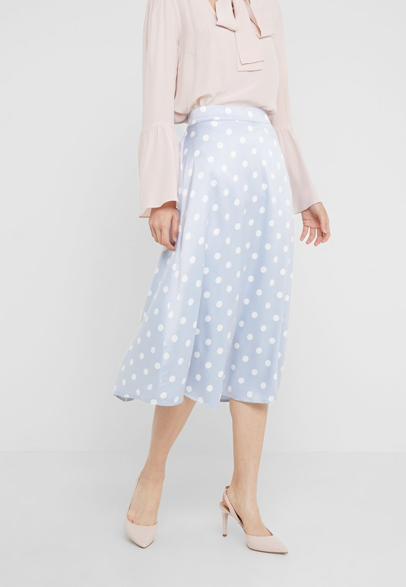 Bruuns Bazaar - DOTHEA SKIRT - A-Linien-Rock - light blue
