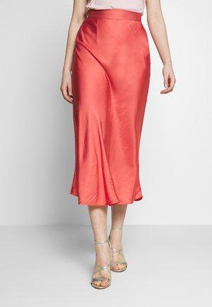 BACA SKIRT - Spódnica trapezowa - poppy red
