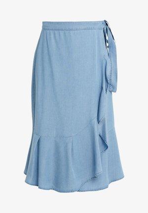 LAERA JESSI SKIRT - Spódnica trapezowa - dawn blue