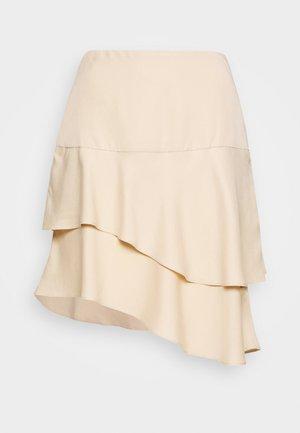 LAERA DOLPHINE SKIRT - A-snit nederdel/ A-formede nederdele - sand