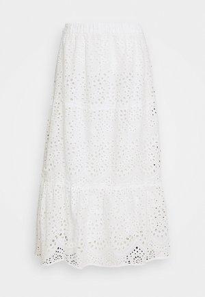 ABELINA LAURANA SKIRT - A-line skirt - snow white