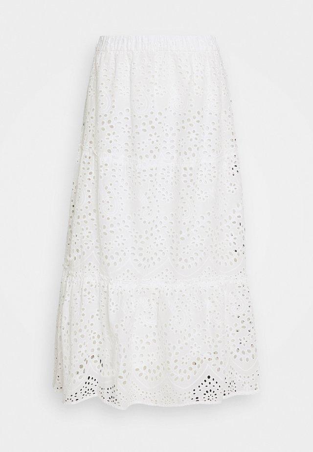 ABELINA LAURANA SKIRT - A-snit nederdel/ A-formede nederdele - snow white