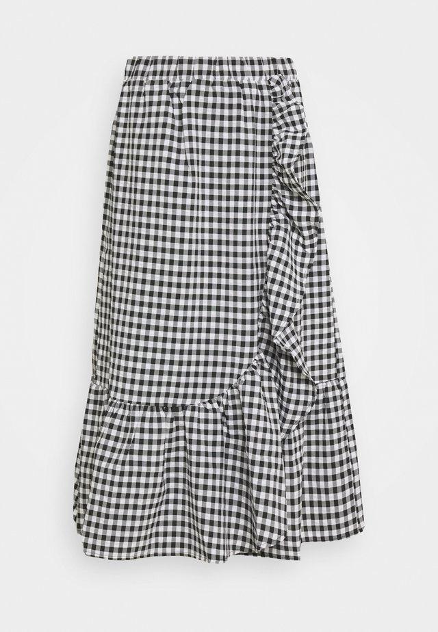 SEER JESSIE SKIRT - A-snit nederdel/ A-formede nederdele - black/white